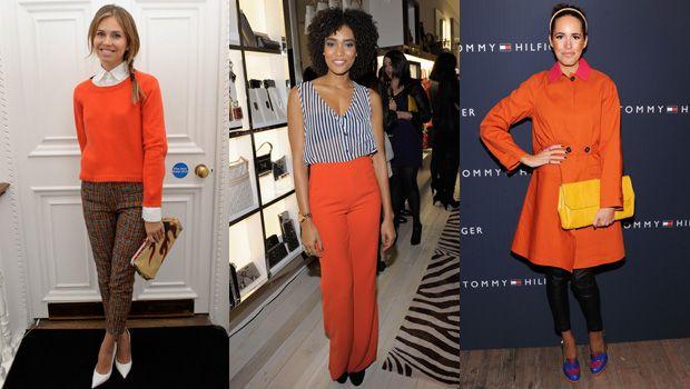 оранжевый на звездах: модный цвет осени 2013, тренд