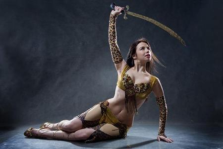 Как сделать традиционный костюм танцовщицы живота