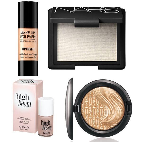 лучшие осветлители (хайлайтеры) для весеннего макияжа