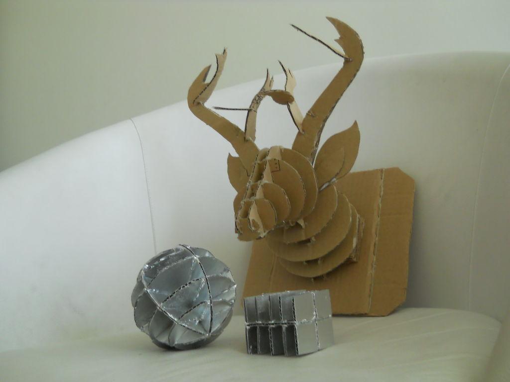Как собирать 3D фигуры из плоских деталей: новая техника