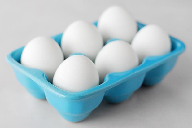 коробка с яйцами