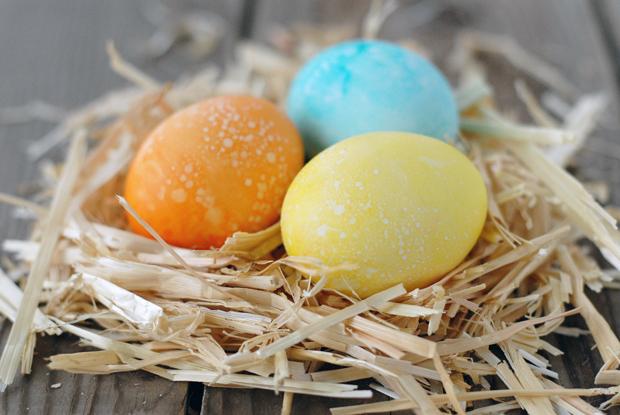 ароматизированные пасхальные яйца