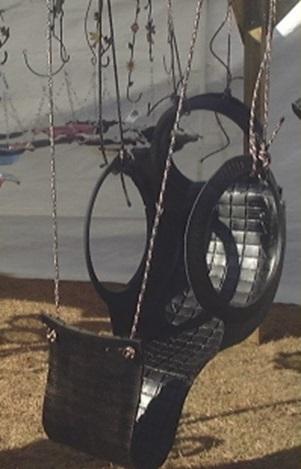 роскошные качели-кресло для взрослого из автомобильной шины