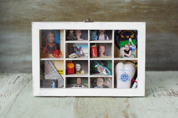 Как отметить окончание лета созданием декоративной памятной коробочки