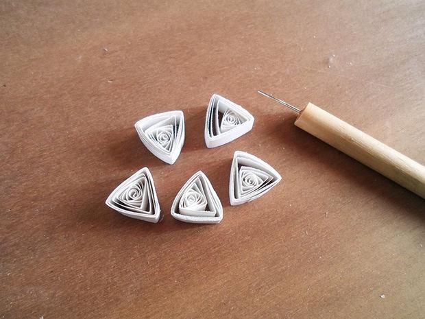 Сделайте еще 5 аналогичных треугольников...