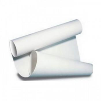сверните лист бумаги в трубу, чтобы потренироваться в окрашивании