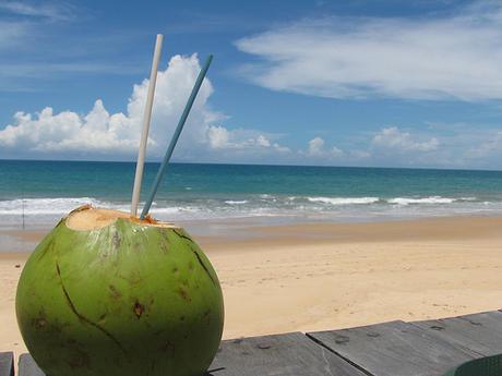 полезная кокосовая вода из незрелых орехов