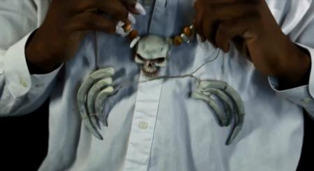 костюм на Хэллоуин - Папаши Легба: ожерелье в стиле вуду