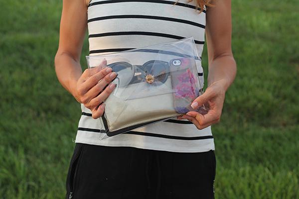 сделать модный прозрачный клатч или кейс для айпада своими руками