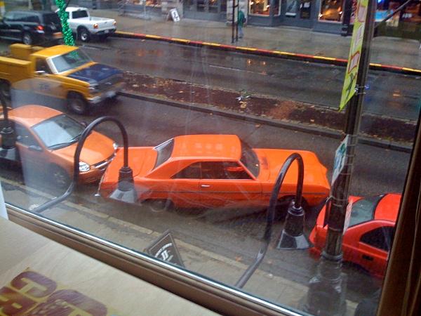корявая параллельная парковка