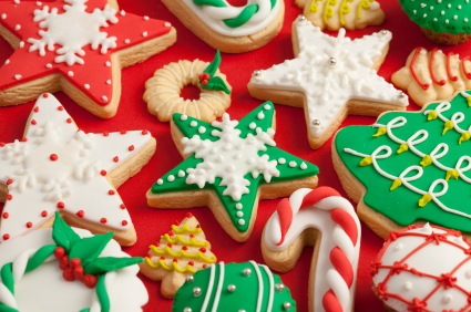 Как приготовить различное декоративное печенье на Новый год - идеи дизайнов