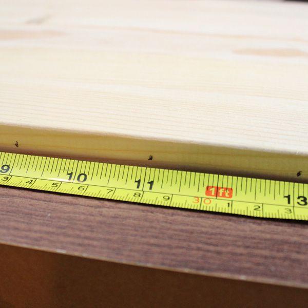 отметки карандашом через каждые 5 см