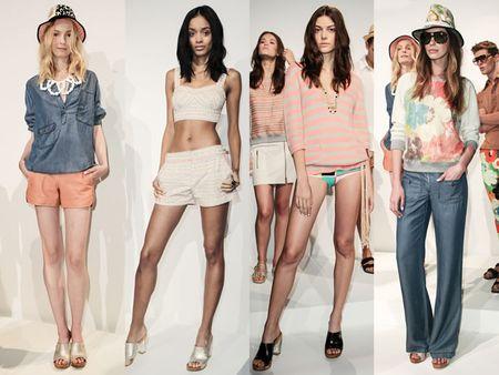 мода лето 2014: пастельные оттенки - 1 яркий акцент серди пастели и натуральные, природные оттенки в сочетании с пастелью
