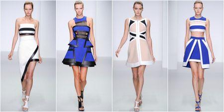 мода лето 2014: пастельные оттенки - 1 яркий акцент серди пастели