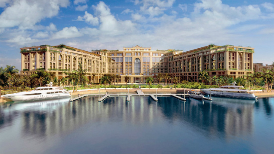 Дубаи охлаждаемый пляж Палаццо Версаче
