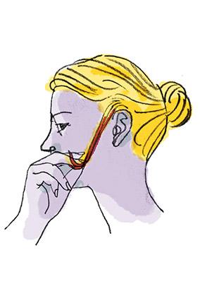 Тест на пряди перед окрашиванием волос