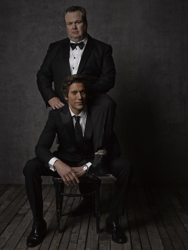 Фотопортреты звезд от Марка Селиджер (Mark Seliger) после церемонии Оскара: Эрик Стоунстрит и Дэвид Мьюир