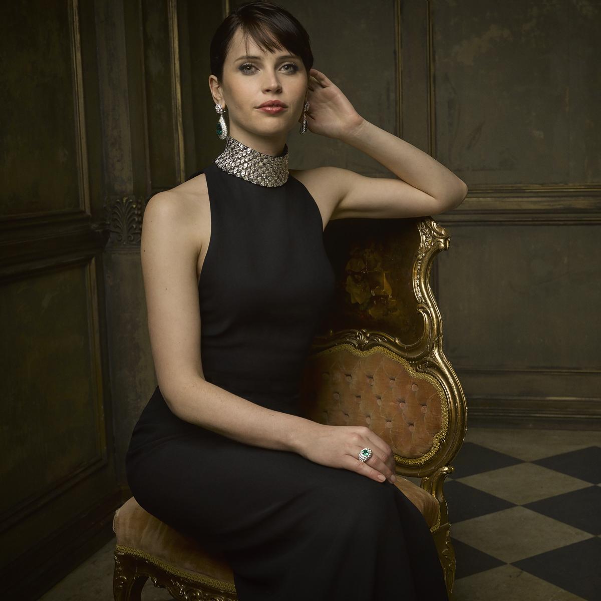 Фотопортреты звезд от Марка Селиджер (Mark Seliger) после церемонии Оскара: Фелисити Джонс