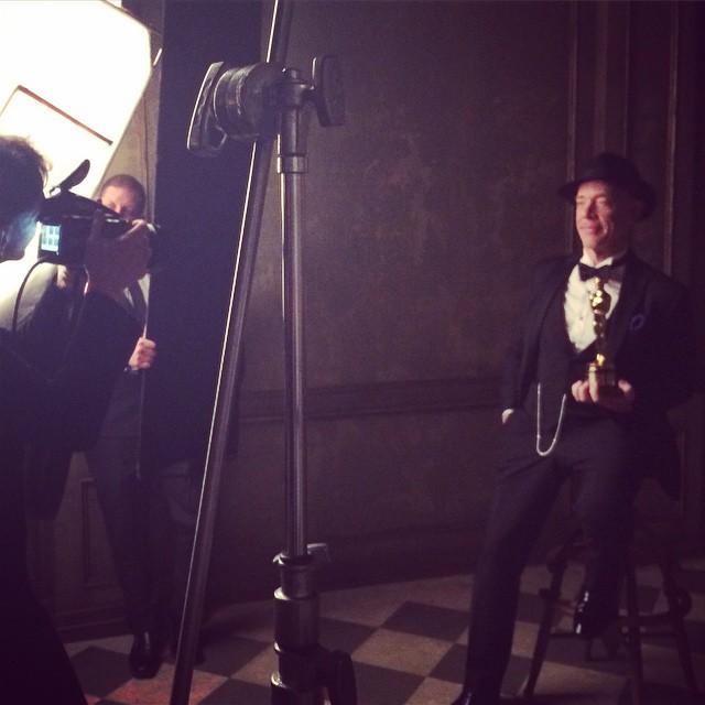 Фотопортреты звезд от Марка Селиджер (Mark Seliger) после церемонии Оскара - за кадром