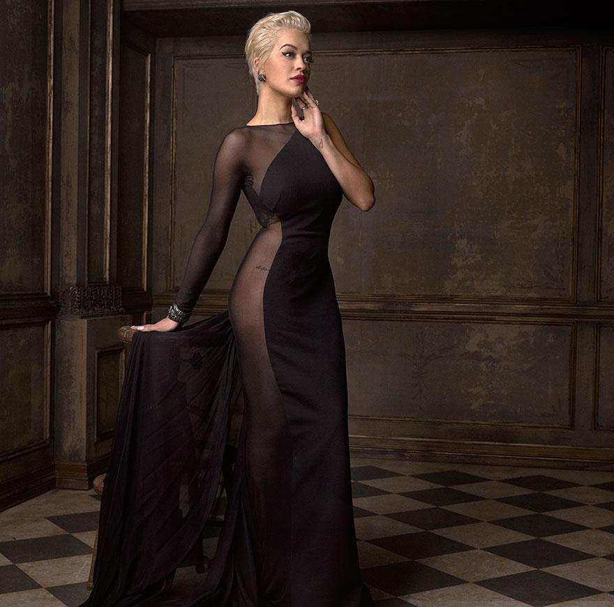 Рита Ора на афтепати от журнала Vanity Fair после Оскара
