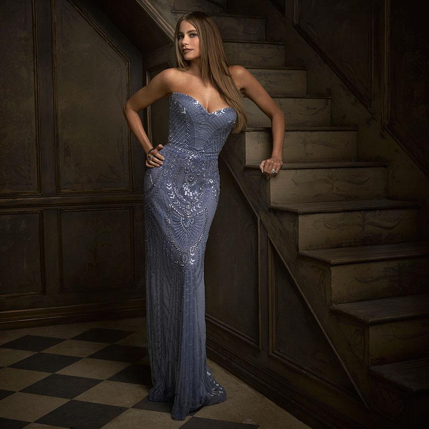 София Вергара на афтепати от журнала Vanity Fair после Оскара