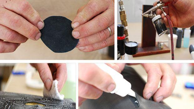 Как починить разодранную кожу: обивка дивана или кресла, куртки и пальто как новые