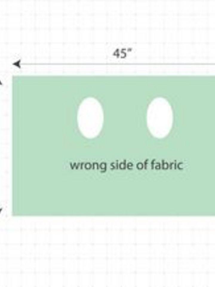 длина ткани под летнюю безрукавку-накидку