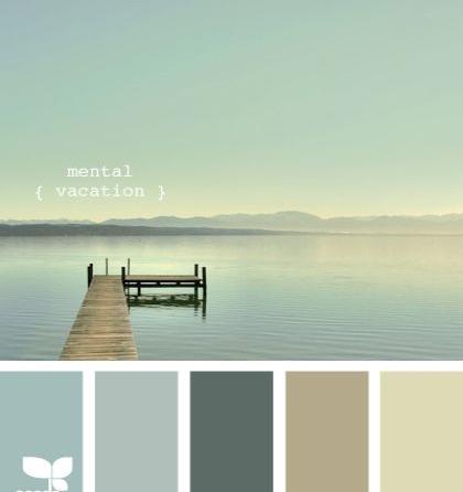 попробуйте подобрать по фотографии цвет стен и палитру декора