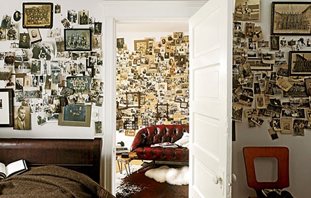Как использовать семейные фотографии в декоре помещения и не только. Часть 2.