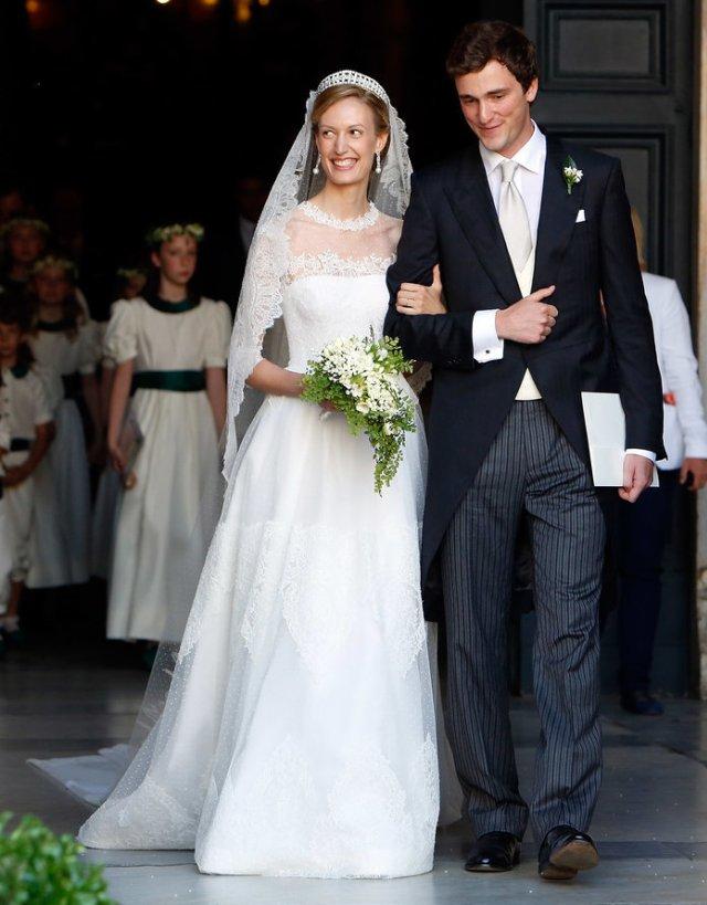Как выглядят свадебные платья настоящих принцесс