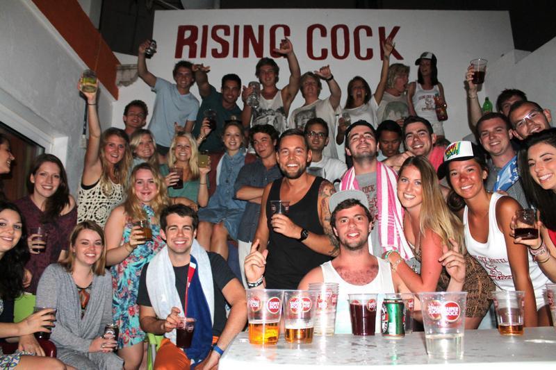 Хостел для вечеринок Топ-10 в мире The Rising Cock, Лагос, Португалия