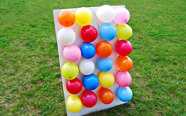 Дартс с шариками: креативно развлечь детей на даче