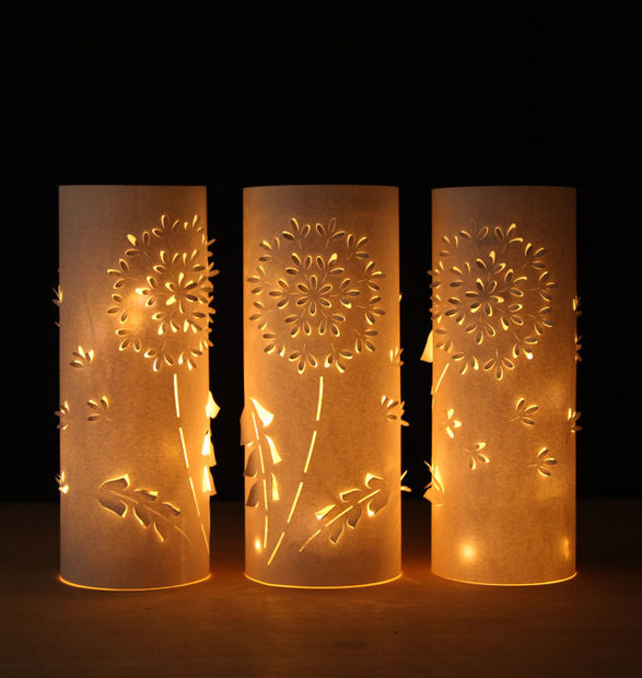 Как делать волшебные резные фонарики из пластиковых бутылок и бумаги