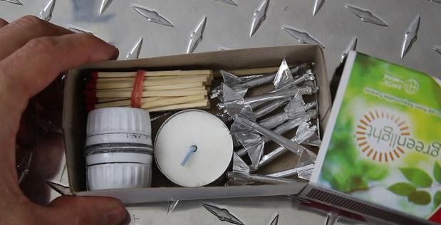 Позднее вы заполните коробок всеми необходимыми для запуска элементами, получая портативную «ракетную станцию»