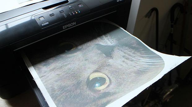 Как распечатать картинку на ткань в домашних условиях на струйном принтере
