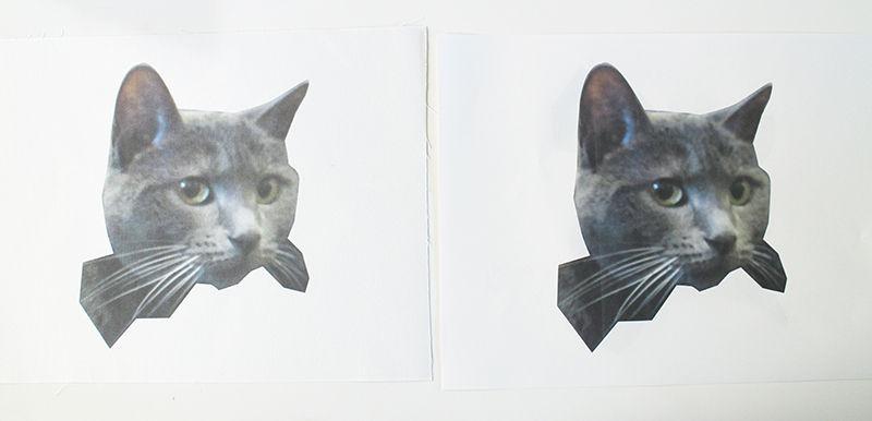 печать на ткань и печать на бумагу