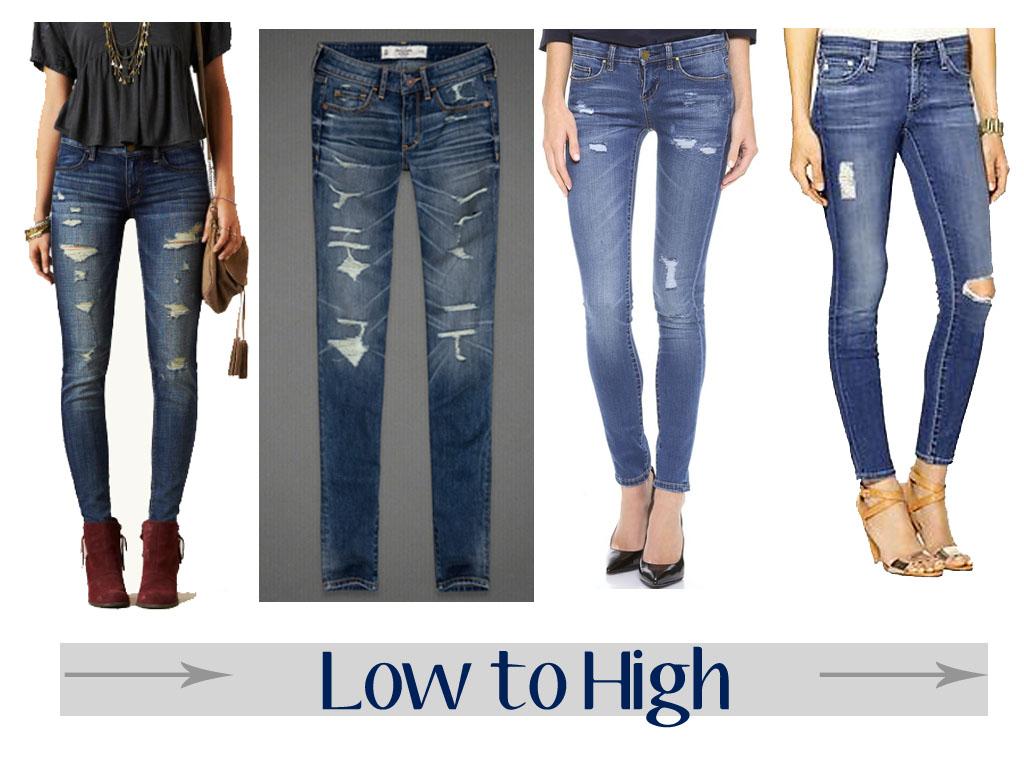 модные джинсы - новый вид рванки