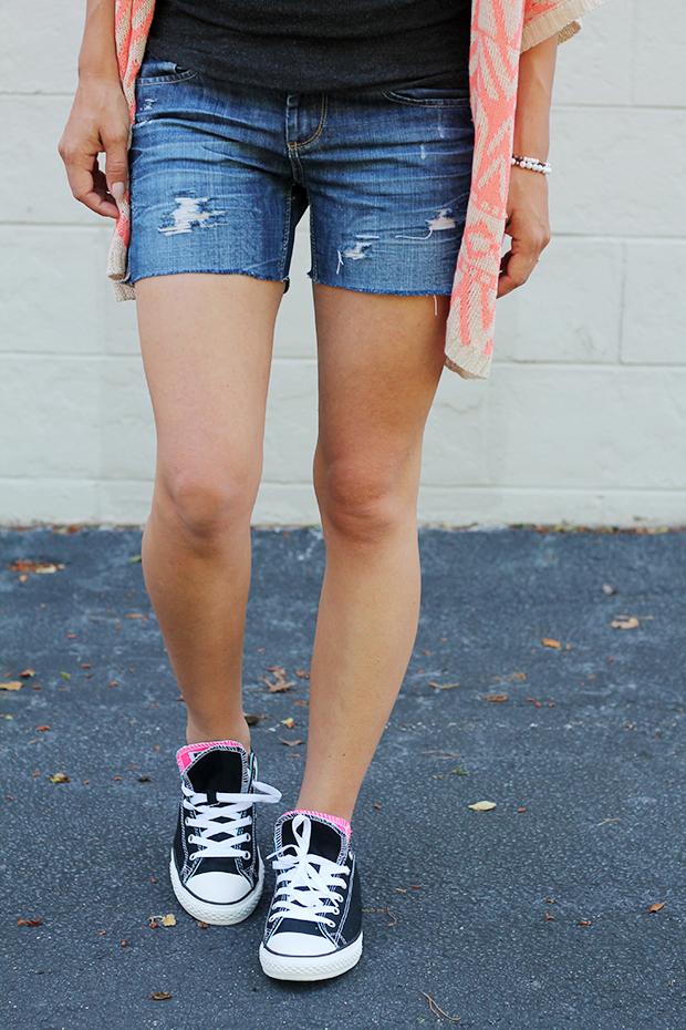 модные джинсовые шорты - новый вид рванки