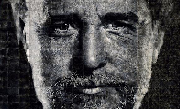 Как художники рисуют огнем - Стивен Спазук (Steven Spazuk): портрет мужчины