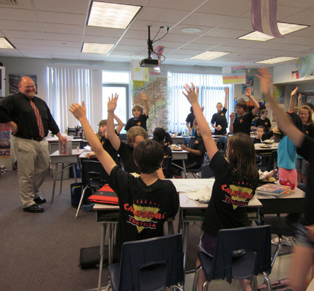 Отношение учеников и студентов