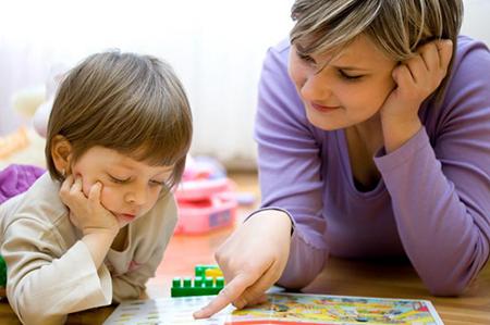 Вас могут попросить определенное время каждый день проводить с ребенком за различными развивающими играми разной направленности