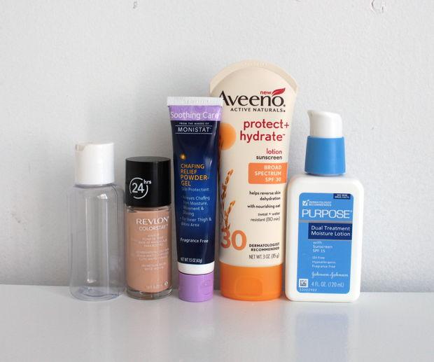 материалы и ингредиенты для изготовления BB-крема в домашних условиях