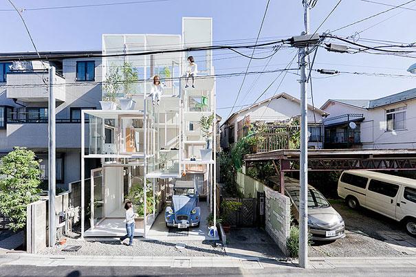 Как выглядит Топ-10 домов мира с самой экстравагантной планировкой - Прозрачный дом