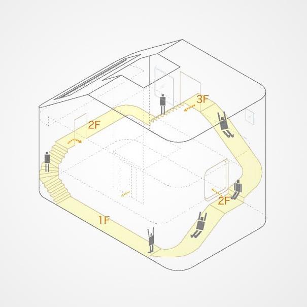 Как выглядит Топ-10+ домов мира с самой экстравагантной планировкой - Дом с горкой для катания, планировка