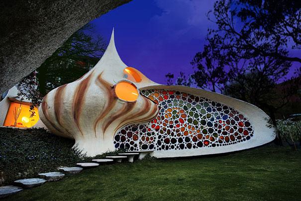 Как выглядит Топ-10+ домов мира с самой экстравагантной планировкой - Дом в гигантской раковине