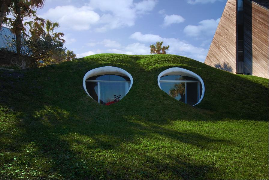 Как выглядит Топ-10+ домов мира с самой экстравагантной планировкой - Дом-дюна
