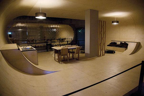 Как выглядит Топ-10 домов мира с самой экстравагантной планировкой - Дом скейтбордистов