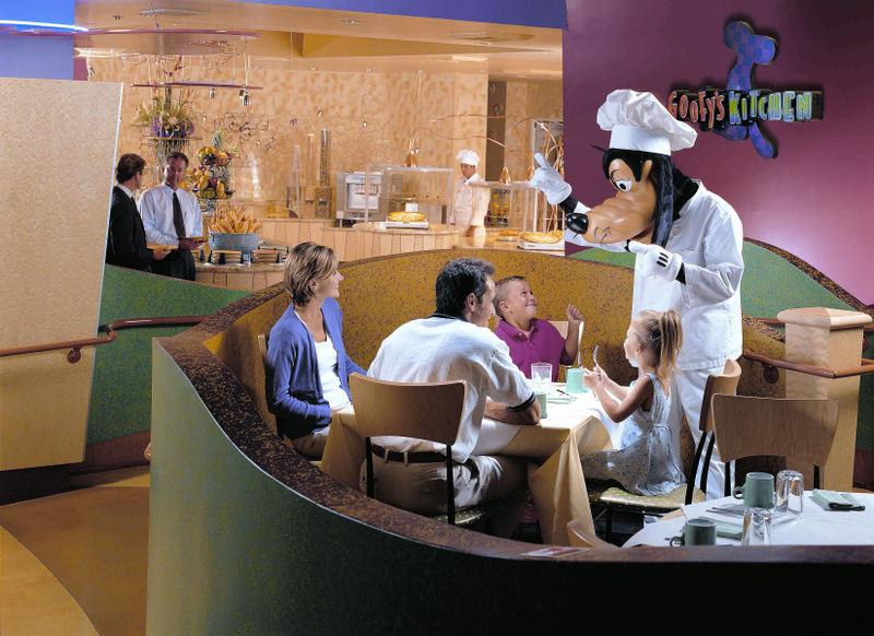 ресторан в Диснейленде