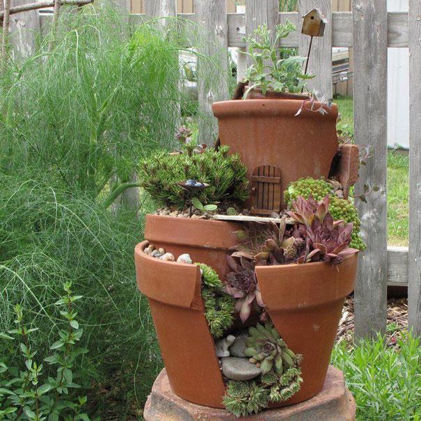 сад и домик для замкнутой феи - ландшафтный дизайн