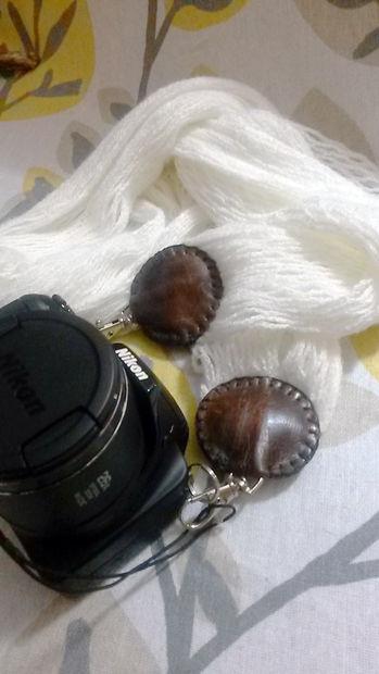 Как сделать ремень для фотоаппарата/сумки из осеннего/зимнего вязаного шарфа